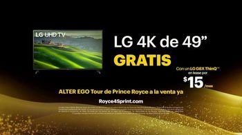 Sprint TV Spot, 'Roadside Bar: LG G8X ThinQ + TV gratis' [Spanish] - Thumbnail 7