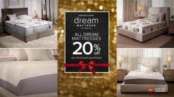 Value City Furniture Black Friday Sale TV Spot, 'Biggest & Best: Dream Mattresses' - Thumbnail 3