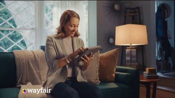 Wayfair Cyber Monday Blowout TV Spot, 'Living Room Seating, Storage Solutions & Area Rugs' - 498 commercial airings