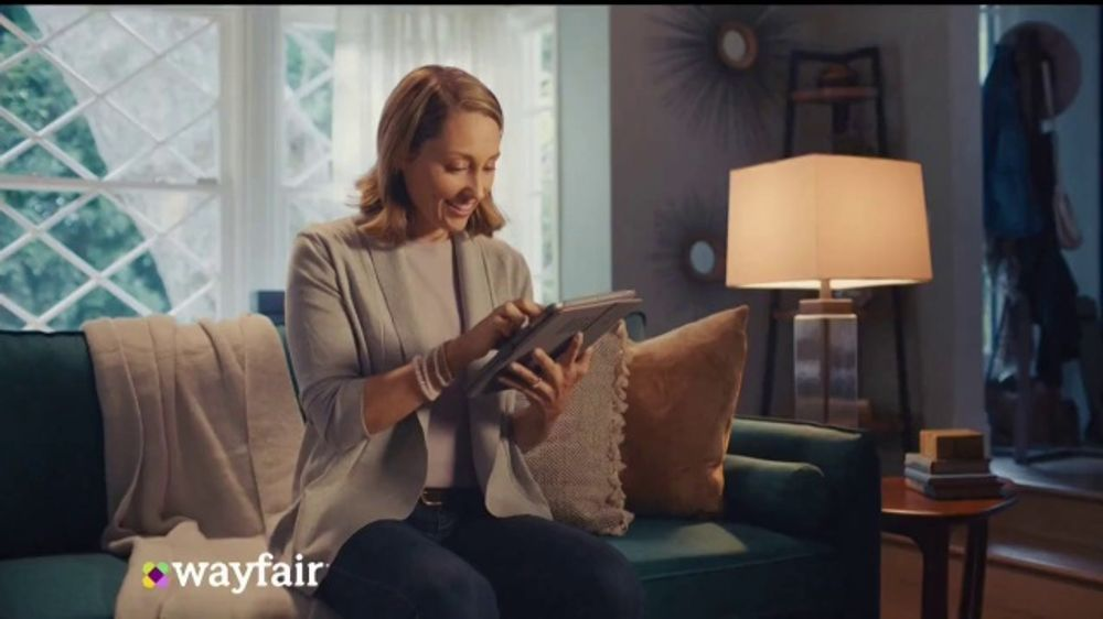 Wayfair Cyber Monday Blowout TV Commercial, 'Living Room Seating, Storage Solutions & Area Rugs'