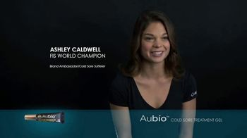 Aubío Cold Sore Treatment Gel TV Spot, 'Stress' Featuring Ashley Caldwell, Casey Patterson