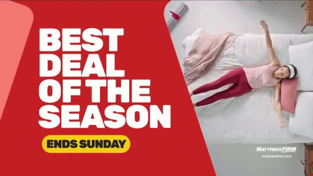 Mattress Firm Black Friday Sale TV Commercial, 'Extended: Free Adjustable Base'