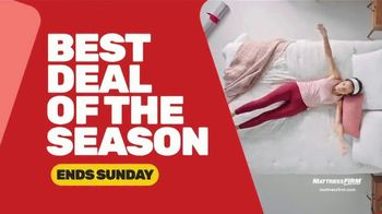 Mattress Firm Black Friday Sale TV Spot, 'Extended: Free Adjustable Base'