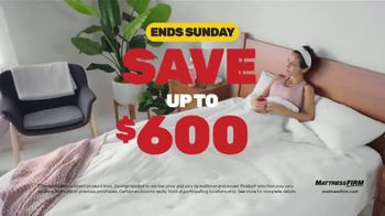 Mattress Firm Black Friday Sale TV Spot, 'Extended: Free Adjustable Base' - Thumbnail 4