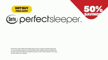 Mattress Firm Black Friday Sale TV Spot, 'Extended: Free Adjustable Base' - Thumbnail 8