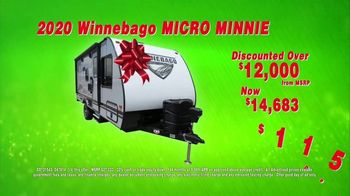 La Mesa RV of West Sacramento Holiday RV Show TV Spot, '2020 Winnebago Micro Minnie' - Thumbnail 4