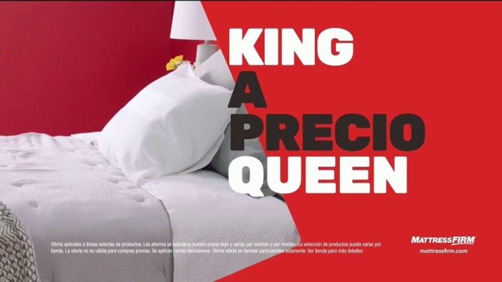 Mattress Firm Venta de Black Friday TV Commercial, 'Ahorra hasta $600 d??lares'