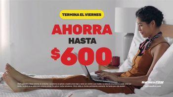 Mattress Firm Venta de Black Friday TV Spot, 'Ahorra hasta $600 dólares' [Spanish] - Thumbnail 2