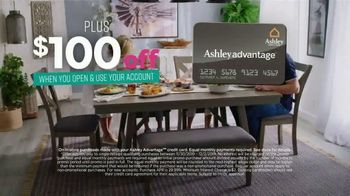 Ashley HomeStore Black Friday Sale TV Spot, 'Held Over: Zero Interest and Extra $100 Off' - Thumbnail 10