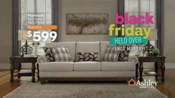 Ashley HomeStore Black Friday Sale TV Spot, 'Held Over: Zero Interest and Extra $100 Off' - Thumbnail 3