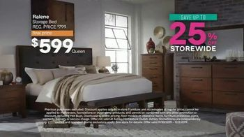 Ashley HomeStore Black Friday Sale TV Spot, 'Held Over: Zero Interest and Extra $100 Off' - Thumbnail 4