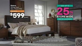 Ashley HomeStore Black Friday Sale TV Spot, 'Held Over: Zero Interest and Extra $100 Off' - Thumbnail 5