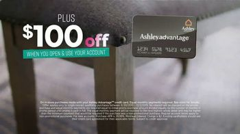 Ashley HomeStore Black Friday Sale TV Spot, 'Held Over: Zero Interest and Extra $100 Off' - Thumbnail 9