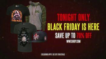 WWE Shop TV Spot, 'Black Friday: Up to 70% Off' Song by John Cameron, Adam Mills, Thomas Mills - Thumbnail 8