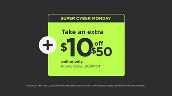 Kohl's Super Cyber Monday TV Spot, 'Extra 20 Percent Off: Keurigs, Fitbits & Jewelry' - Thumbnail 9