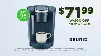 Kohl's Super Cyber Monday TV Spot, 'Extra 20 Percent Off: Keurigs, Fitbits & Jewelry' - Thumbnail 6