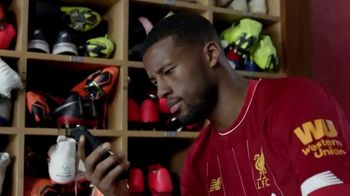 Western Union TV Spot, 'Send Money Around the World' Featuring Alisson Becker, Georginio Wijnaldum - Thumbnail 9