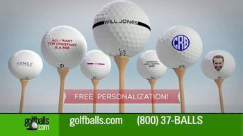 Golfballs.com TV Spot, 'Give the Gift of Golf: Titleist Pro, Callaway Chrome Soft and TaylorMade' - Thumbnail 9