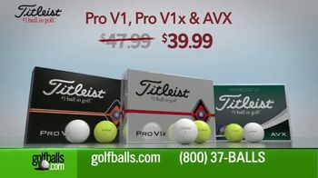 Golfballs.com TV Spot, 'Give the Gift of Golf: Titleist Pro, Callaway Chrome Soft and TaylorMade' - Thumbnail 2