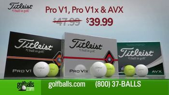 Golfballs.com TV Spot, 'Give the Gift of Golf: Titleist Pro, Callaway Chrome Soft and TaylorMade'