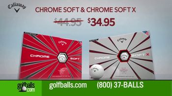 Golfballs.com TV Spot, 'Give the Gift of Golf: Titleist Pro, Callaway Chrome Soft and TaylorMade' - Thumbnail 5