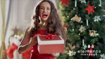 Elements Massage TV Spot, 'Holiday Gift Card' - Thumbnail 1