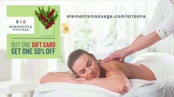 Elements Massage TV Spot, 'Holiday Gift Card'