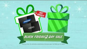 Meijer Black Friday Two Day Sale TV Spot, 'Big Chance to Help the Big Guy' - Thumbnail 6