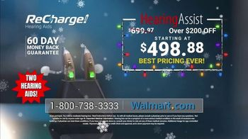 Hearing Assist ReCharge TV Spot, 'Full Control: Save $200'