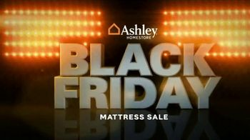 Ashley HomeStore Black Friday Mattress Sale TV Spot, 'Buy One, Get One Free' - Thumbnail 1