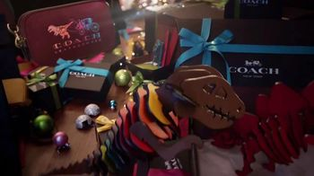Coach TV Spot, 'Holidays: Dancing Dinosaurs' Song by The Donnas - Thumbnail 6
