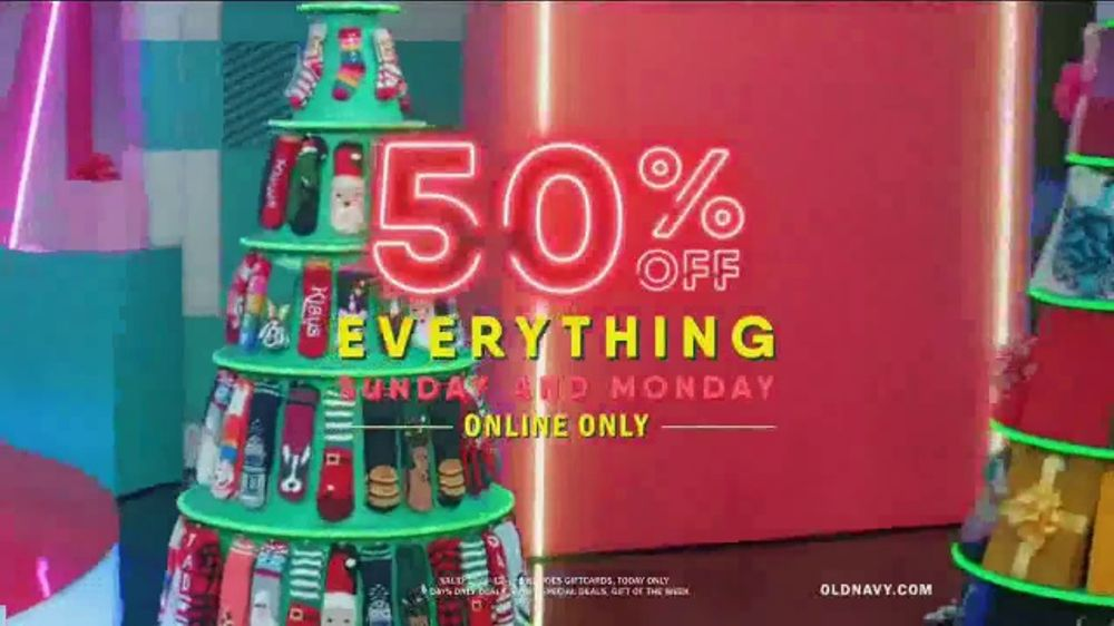Old Navy TV Commercial, 'Holiday Stress: 50 Percent Off Everything Online' Featuring Neil Patrick Ha