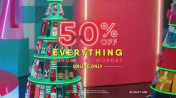 Old Navy TV Spot, 'Holiday Stress: 50 Percent Off Everything Online' Featuring Neil Patrick Harris - 976 commercial airings