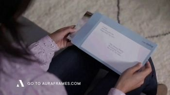 Aura Frames TV Spot, 'Perfect Holiday Gift: First Month Free' - Thumbnail 1