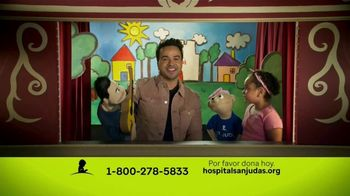 St. Jude Children's Research Hospital TV Spot, 'Listos para el show' con Luis Fonsi [Spanish] - 167 commercial airings