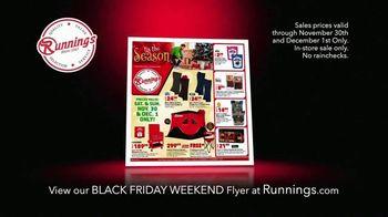 Runnings TV Spot, 'Jump on Holiday Shopping'