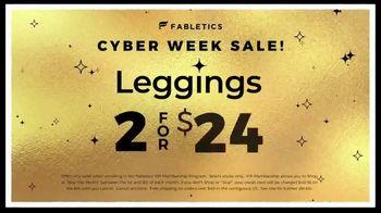 Fabletics.com Cyber Week Sale TV Spot, 'All New Line' - Thumbnail 9