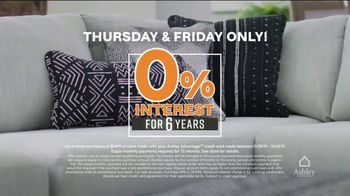 Ashley HomeStore Black Friday Sale TV Spot, 'Friday Is Here: Zero Percent Interest' - Thumbnail 4