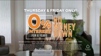 Ashley HomeStore Black Friday Sale TV Spot, 'Friday Is Here: Zero Percent Interest' - Thumbnail 5