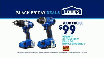 Lowe's Black Friday Deals TV Spot, 'Rod Pod: Drill or Driver' Featuring Kurt Warner - Thumbnail 10