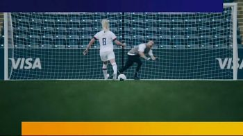 VISA TV Spot, 'NFL: Where Would You Like to Be?' Featuring Zach and Julie Ertz - Thumbnail 2