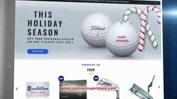 PGA TOUR Superstore TV Spot, 'Holidays: Free Shipping'