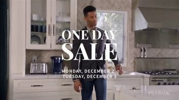 JoS. A. Bank One Day Sale TV Spot, 'Dress Shirts, Suits & Clearance'