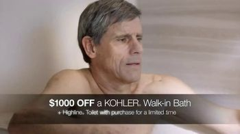 Kohler Walk-In Bath TV Spot, 'Independence With Peace of Mind: $1,000 Off' - Thumbnail 5