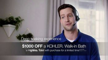 Kohler Walk-In Bath TV Spot, 'Independence With Peace of Mind: $1,000 Off' - Thumbnail 7