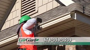 LeafGuard of North Georgia 99 Cent Install Sale TV Spot, 'Whatever the Weather'