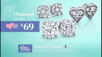 Jewelry Exchange TV Spot, 'Be My Valentine: Earrings, Stackable Band and Rings'