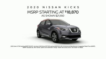 2020 Nissan Kicks TV Spot, 'Flex Your Tech' Song by Louis the Child, K.Flay [T1] - Thumbnail 10