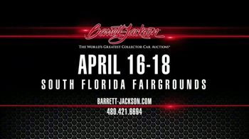 Barrett-Jackson World's Greatest Collection Car Auction TV Spot, '2020 South Florida Fairgrounds' - Thumbnail 10