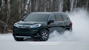Honda Pilot TV Spot, 'Comfortable in Baudette' [T1] - 1320 commercial airings